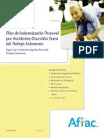 Plan de Indemnización Personal Por Accidentes Ocurridos Fuera Del Trabajo Solamente, Nivel 1 (A-34000)