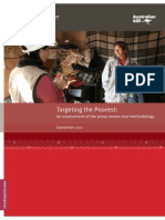 Targeting the Poorest - An Assessment of the Proxy Means Test Methodology