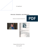 Per Aage Brandt Spaces Domains and Meaning. Essays in Co