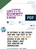 The Incite Summit East 2013 eBook