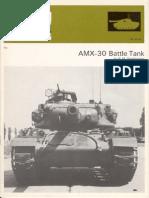 AMX 30 Battle Tank AFV Weapons Profile No 63