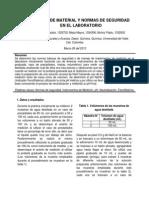 Manejo de Material y Normas de Seguridad en El Laboratorio (1)