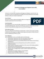8 Hour HI Mortgage Law Update Syllabus 2014