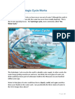 the hydrologic water cycle