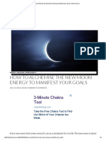 How to Alchemise the New Moon Energy to Manifest Your Goals _ Spirit Science