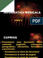 Curs 5 Informatică Medicală Și Biostatistică 2