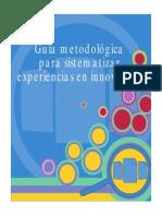 Guia Metodologica Para Sistematizar Exp Pro