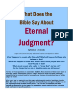 What Does the Bible Say About ETERNAL JUDGMENT?