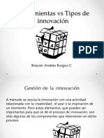 Herramientas vs Tipos de Innovación