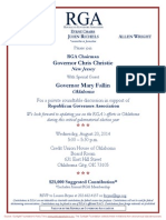 Private Roundtable Discussion for Republican Governors Association