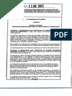 Ley 1474 de 2011 - 12 de Julio - Estatuto Anticorrupción