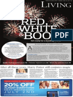4th of July Living cover - D1 - The Patriot-News - June 29, 2014