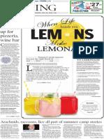 Living cover - Lemonade - The Patriot-News - July 15, 2014