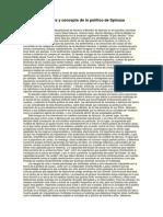 Multitudes y Concepto de Lo Político de Spinoza