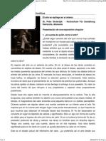 Revista Observaciones Filosóficas - El Arte Se Repliega en Sí Mismo