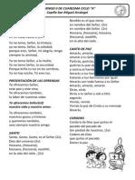 Cantos - Domingo II de Cuaresma Ciclo