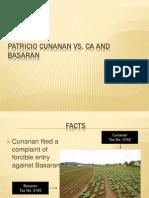 Patricio Cunanan Vs