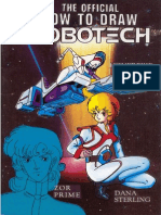 The Official How to Draw Robotech 05