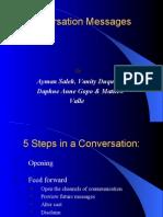 conversations messages