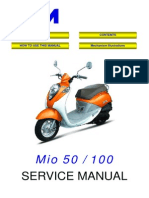 SYM Mio50 Service Manual 000