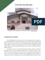 Odu Ifa Do Ano 2014-2015-Libre