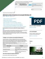 Administración de Opciones de energía (Windows8) _ Soporte HP®