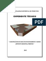 Especificaciones Tecnicas Estacionamiento Ladrillera