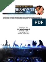 Apostila de Estudos Programático Do Curso Profissionalizante de Dj