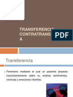 Transferencia y Contratrasnferencia 1