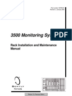 3500 Monitoring System Rack Installation and Maintenance Manu