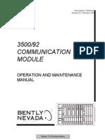 3500 92 Communication Gateway Module Operation and Maintenanc