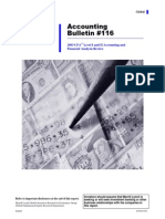 Accounting Review by Merrill Lynch for CFA