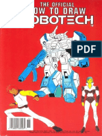 The Official How to Draw Robotech 10