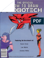 The Official How to Draw Robotech 11
