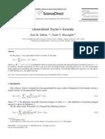 Odibat (2007) Generalized Taylor's Formula