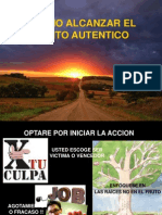 COMO ALCANZAR EL EXITO AUTENTICO.ppt
