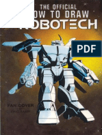 The Official How to Draw Robotech 13