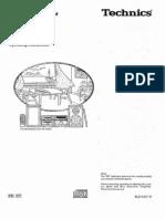 Technics SC-HD51 SC-HD81 User Manual