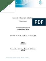 Unidad 2 Diseño de Interfaces Mediante .NET