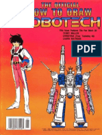 The Official How to Draw Robotech 14