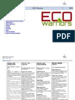 eco warriors stage 3 matrix program term 2 2014
