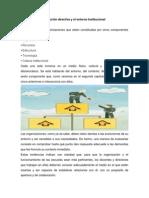 La Acción Directiva y El Entorno Institucional