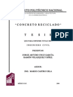 Concreto reciclado
