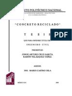 Concreto reciclado