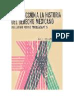 Introduccion a La Historia Del Derecho Mexicano - Floris Margadant