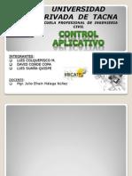 Ode - Expo. - Final Control La Aplicacion