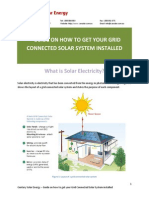 CSE Guide - Grid Connected Solar System