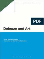Anne Sauvagnargues Deleuze and Art 1