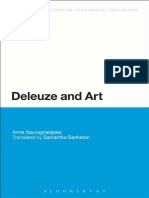 Anne Sauvagnargues Deleuze and Art 1