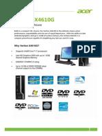 Acer Veriton X4610G